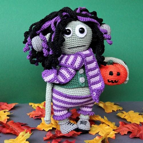 Haakpatroon Frankie de Halloween amigurumi