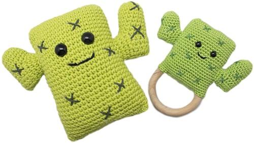 Cleo Cactus Set Garenpakket Rammelaars en Knuffels Haken