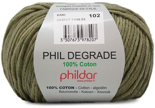 Phildar Phil Degrade 1438 Kaki