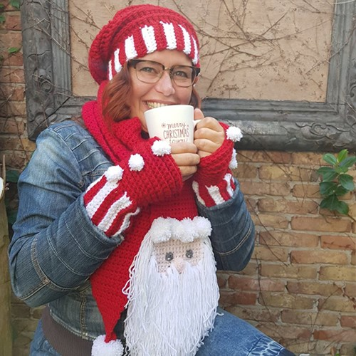 Haakpatroon Kerst Sjaal En Muts