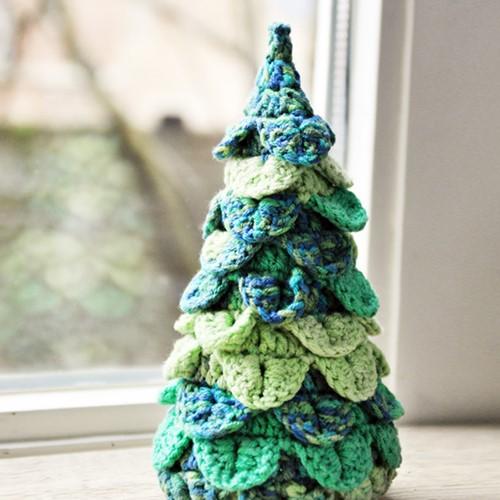 Haakpatroon kerstboom