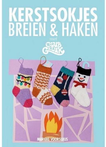 Kerstsokjes breien en haken met Club Geluk