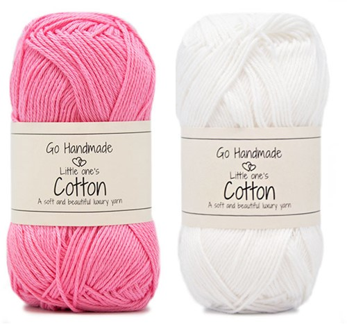 Go Handmade Babyslinger Vogeltje Haakpakket 1 Roze