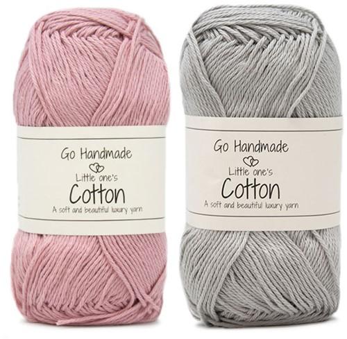 Go Handmade Babyslinger Inktvis Haakpakket 1 Roze