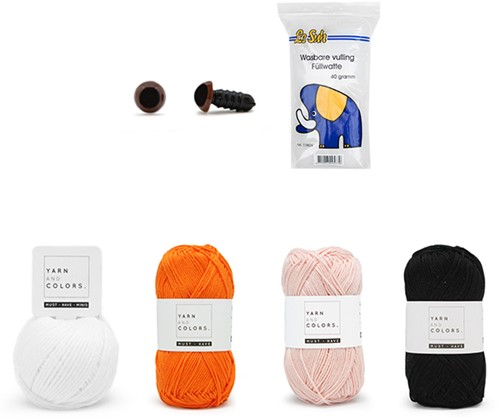 Clownvis Cora Garenpakket Waterwereld Haken Yarn and Colors Must-Have