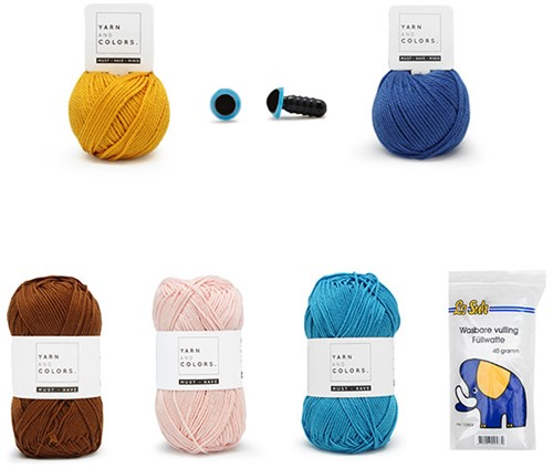 Zeemeerman Kasper Garenpakket Waterwereld Haken Yarn and Colors Must-Have