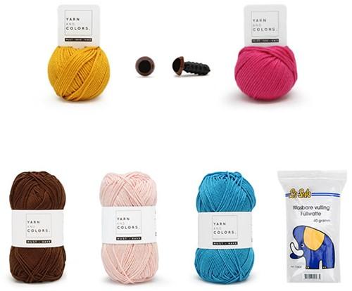 Zeemeermin Lana Garenpakket Waterwereld Haken Yarn and Colors Must-have