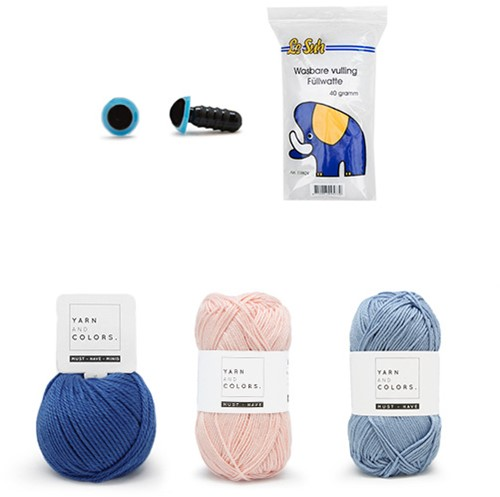 Kwal Karel Garenpakket Waterwereld Haken Yarn and Colors Must-have