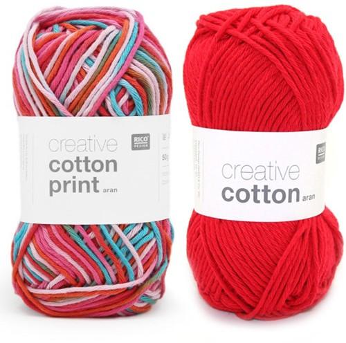 Cotton Print Konijn Haakpakket 1
