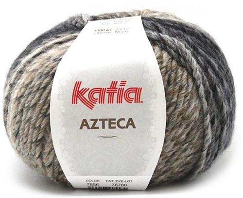 Azteca poncho breipakket 1