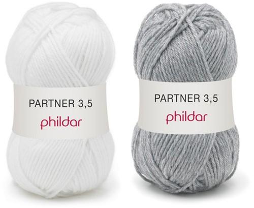 Partner 3.5 bicolore babytrui breipakket 2 - 12 maanden