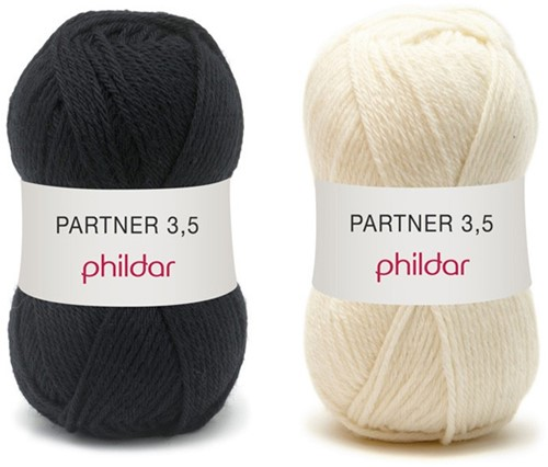 Partner 3.5 strepentrui haakpakket 2 - 50/52