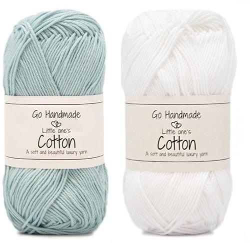 Go Handmade Babyslinger Vogeltje Haakpakket 2 Blauw