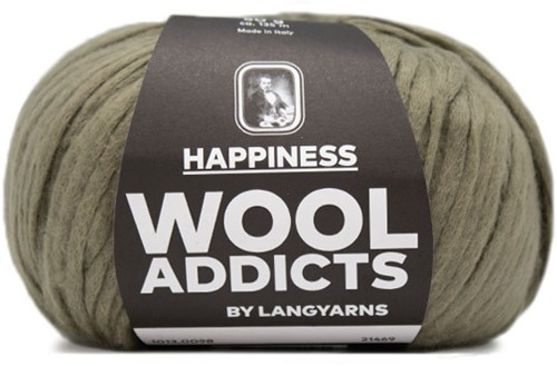 Wooladdicts Good Mood Omslagdoek Breipakket 10 Olive