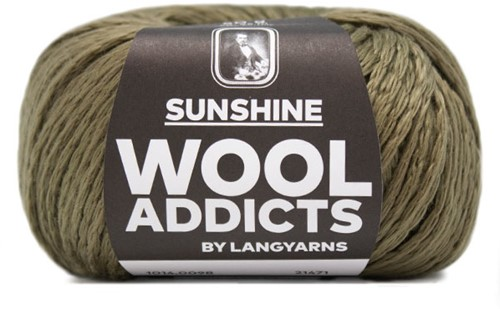 Wooladdicts Whitty Whirlwind Top Breipakket 10 L/XL Olive