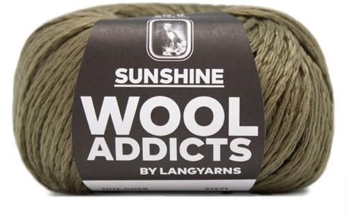 Wooladdicts Like Sunbeams Omslagdoek Breipakket 10 Olive