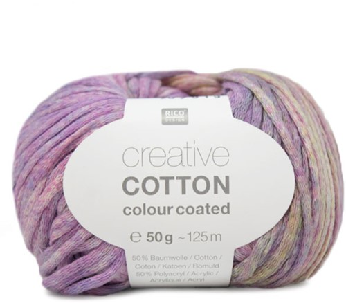Creative Cotton Colour Coated Top Breipakket 1 36/38 Lila Mix