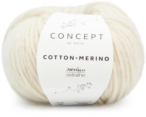 Cotton-Merino Kabel Colsjaal Breipakket 1