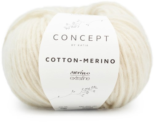 Cotton-Merino Vest Breipakket 1 L