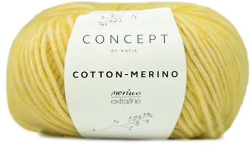 Cotton-Merino Netpatent Trui Breipakket 1 M