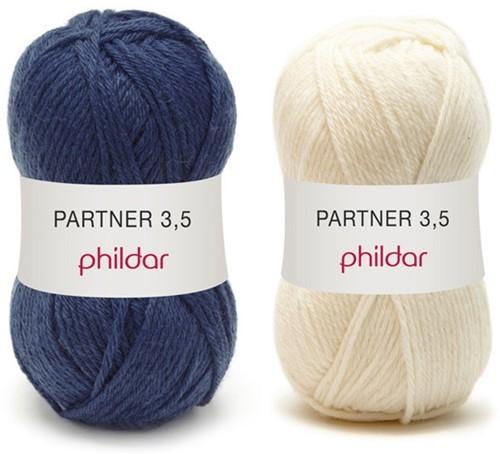 Partner 3.5 strepentrui haakpakket 1 - 42/44
