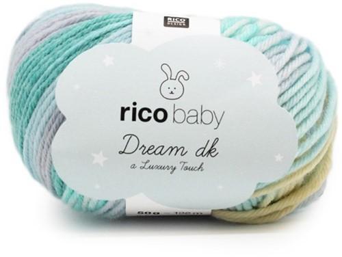 Rico Dream Babycapuchonjasje Breipakket 1 - 74/80