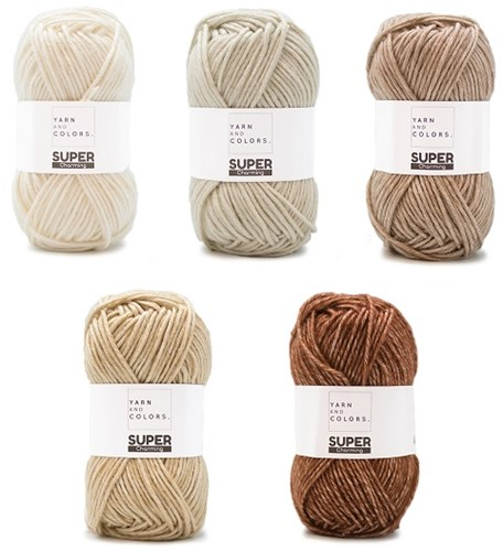 Yarn and Colors Degrade WOW! Muurhanger Pakket 002