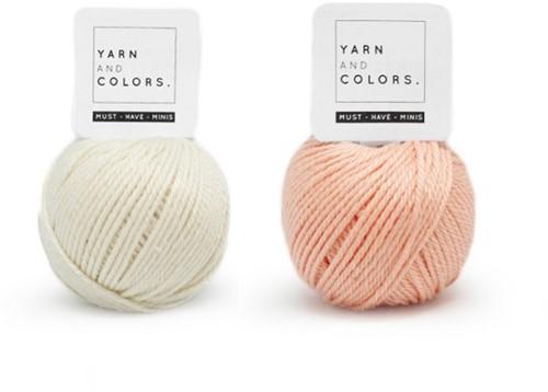 Yarn and Colors Mini Malistic WOW! Muurhanger Pakket 042 Cream / Peach