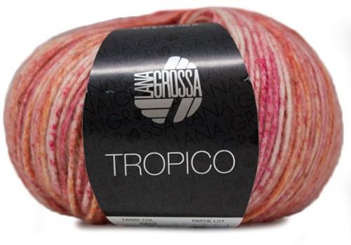 Tropico Ribbeltrui Breipakket 1 40/42 Bright Pink / Rose / Orange / White / Salmon