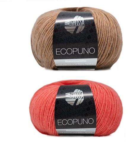 Ecopuno Strepentrui Breipakket 1 36/38 Camel / Salmon