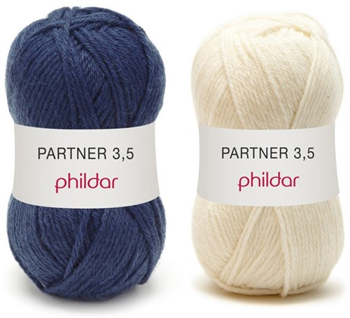 Partner 3.5 strepentrui haakpakket 1 - 34/36