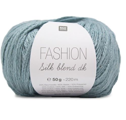 Fashion Silk Blend dk Trui Breipakket 2 44/46 Petrol