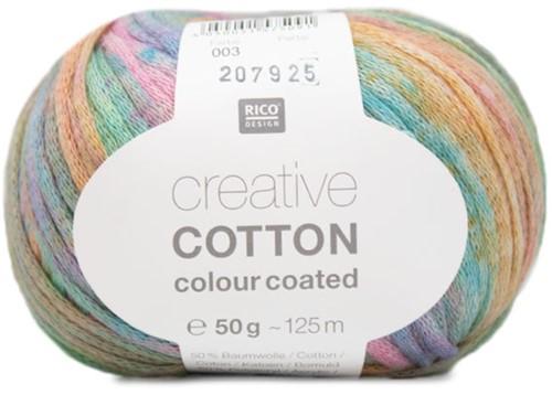 Creative Cotton Colour Coated Top Breipakket 2 44/46 Pastel Mix