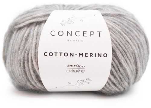 Cotton-Merino Patentsteek Trui Breipakket 2 M