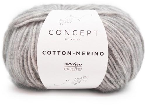 Cotton-Merino Netpatent Trui Breipakket 2 L