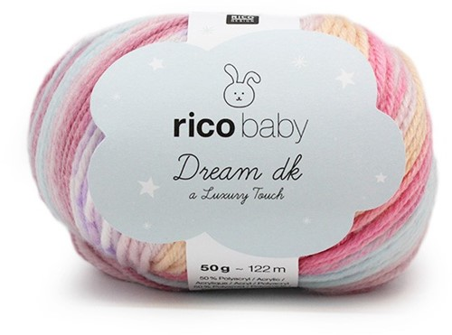 Rico Dream Babycapuchonjasje Breipakket 2 - 74/80