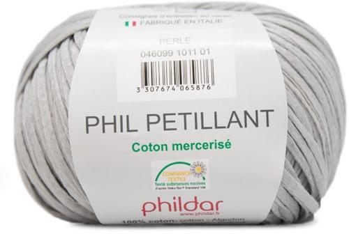 Phil Petillant Zomertop Breipakket 2 42/44 Perle
