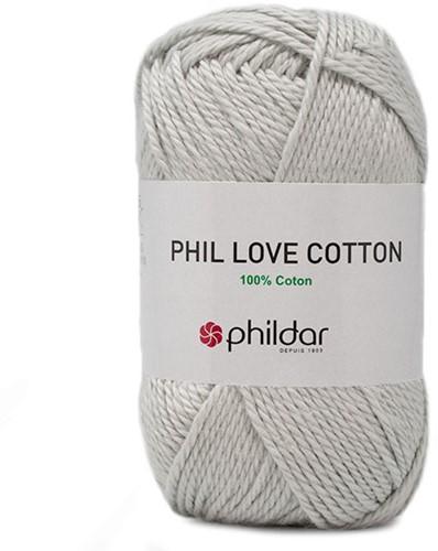 Phil Love Cotton Trui Breipakket 2 46/48 Perle
