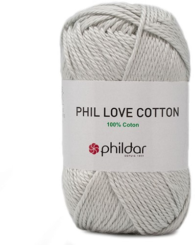 Phil Love Cotton Trui Breipakket 2 34/36 Perle