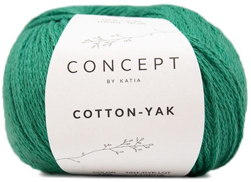 Cotton-Yak Meisjesvest Breipakket 2 4 jaar Green