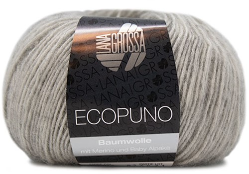 Ecopuno Ribbeltrui Breipakket 2 36/38 Light Grey