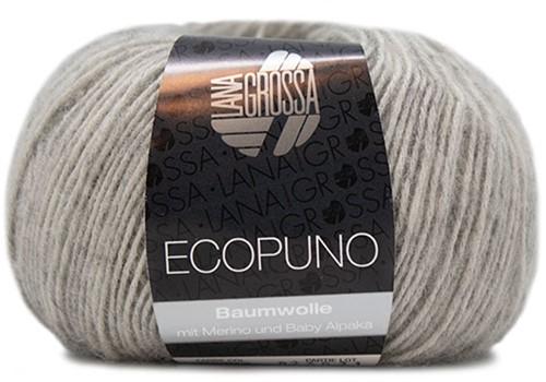 Ecopuno Ribbeltrui Breipakket 2 40/42 Light Grey