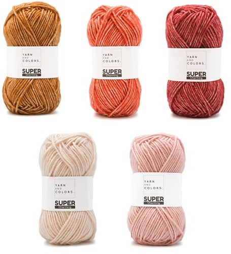 Yarn and Colors Degrade WOW! Muurhanger Pakket 023