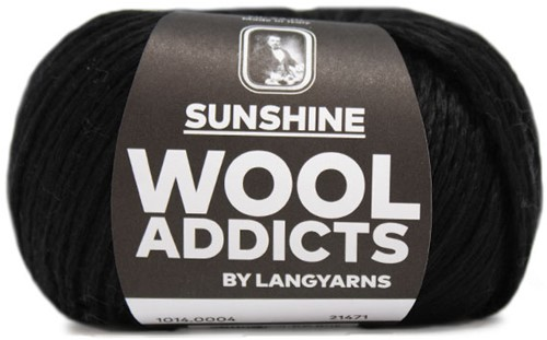 Wooladdicts Whitty Whirlwind Top Breipakket 2 S/M Black
