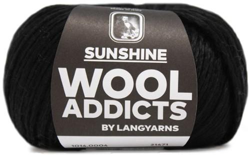 Wooladdicts Like Sunbeams Omslagdoek Breipakket 2 Black
