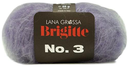 Brigitte no. 3 Raglantrui Breipakket 3 Lila