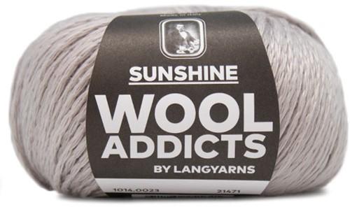 Wooladdicts Like Sunbeams Omslagdoek Breipakket 3 Silver