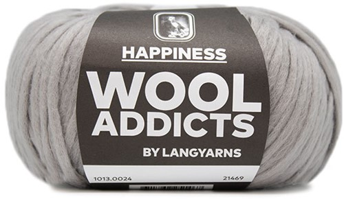 Wooladdicts Good Mood Omslagdoek Breipakket 4 Grey