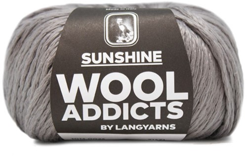 Wooladdicts Glow-Getter Trui Breipakket 4 XL Grey