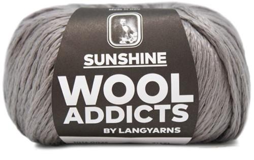 Wooladdicts Solid Stone Vest Breipakket 4 L Grey